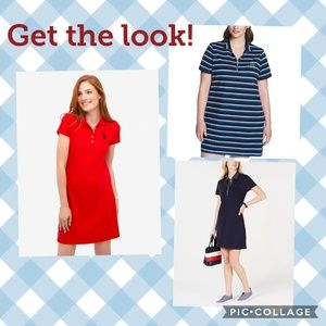 Polo shirt dress *pricing firm*